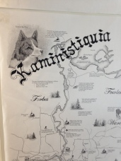 Map of the Kaministiquia River